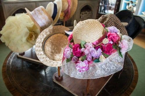 Easter bonnets at Beaulieu