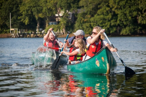 Canoeing with New Forest Activities