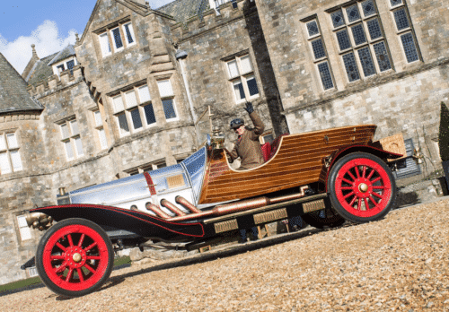 Chitty Chitty Bang Bang has come to Beaulieu!