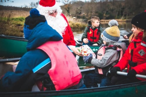 New Forest Activities Christmas Paddle