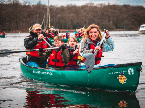 Winter Paddling is back at New Forest Activities