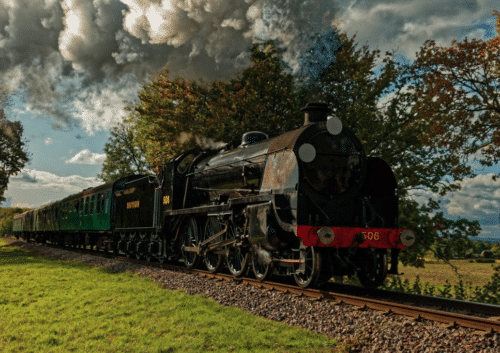 The Watercress Line is open for just one day in January (1st)