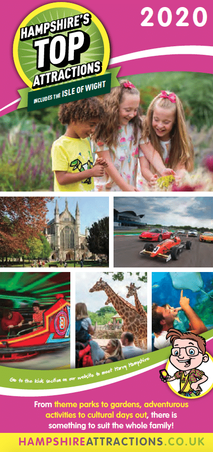 Hampshire's Top Attractions 2020 Leaflet