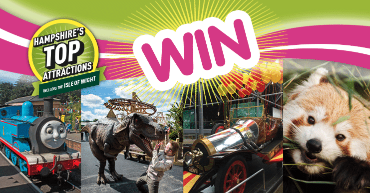 Win with Hampshire's Top Atrractions