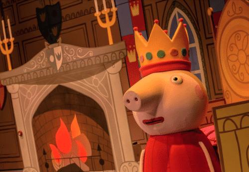 Peppa Pig at the Theatre Royal Winchester (Photo credit Dan Tsantilis)
