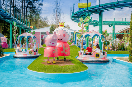 Peppa Pig World at Paultons Park is the perfect place for pre-schools