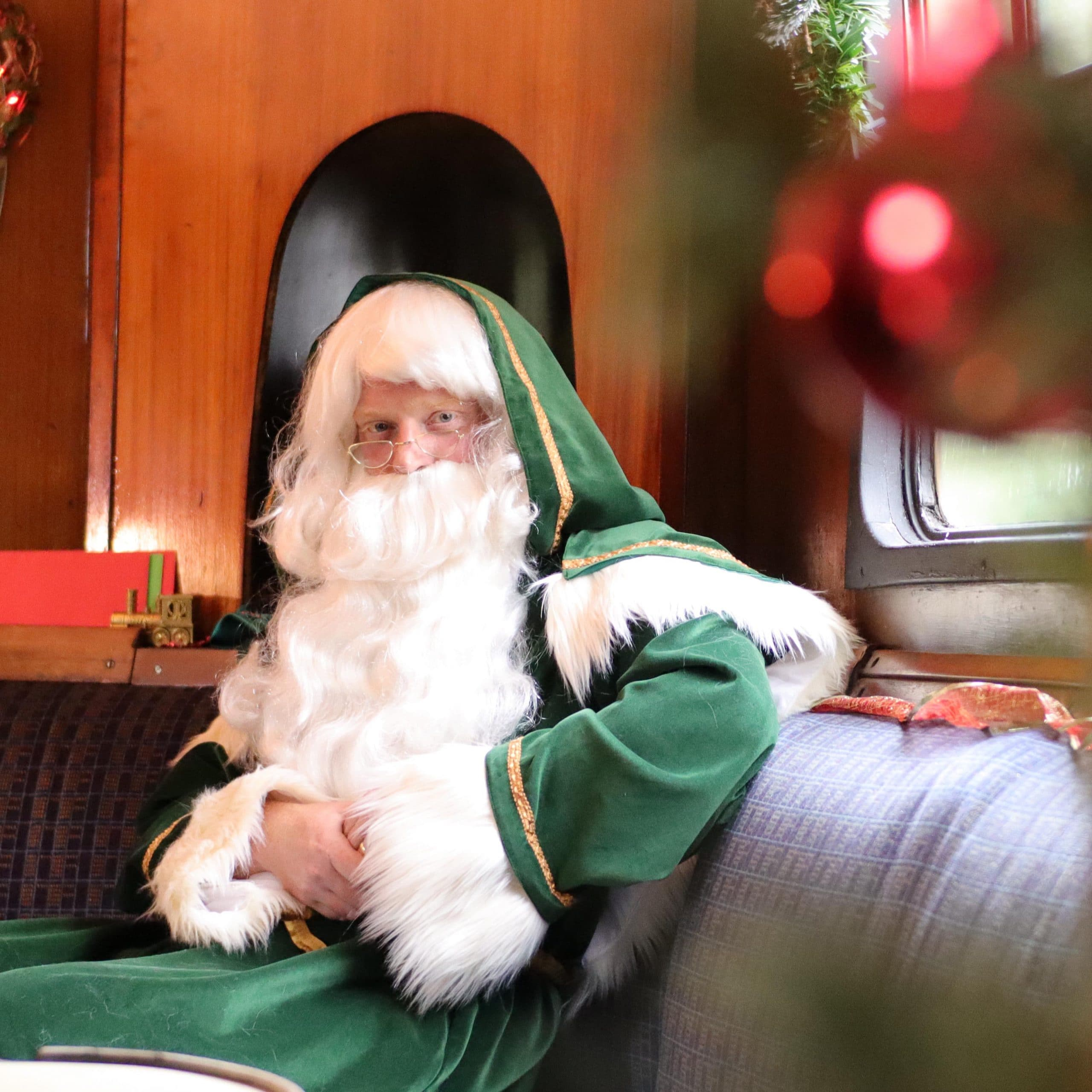 Father Christmas at the Watercress Line