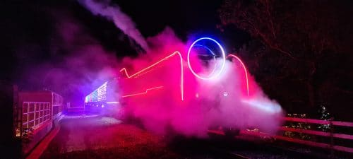 Steam Illuminations at Watercress Line