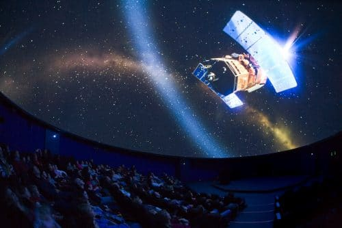 Winchester Science Centre Intech Planetarium