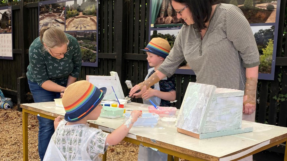 Bird Box Making at Exbury Gardens - Hampshire Top Attractions family event