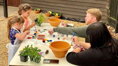 Mini Garden Making at Exbury Gardens * Steam Railway - HTA event